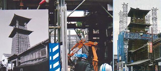 時の鐘耐震化工事